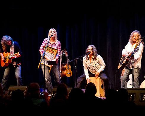 Duo Quartet - featuring Chris Webster, Nina Gerber and Pam Delgado, Jeri Jones